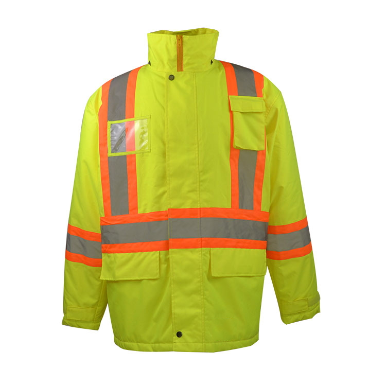 ANSI Hi Vis Reflective Winter Coat